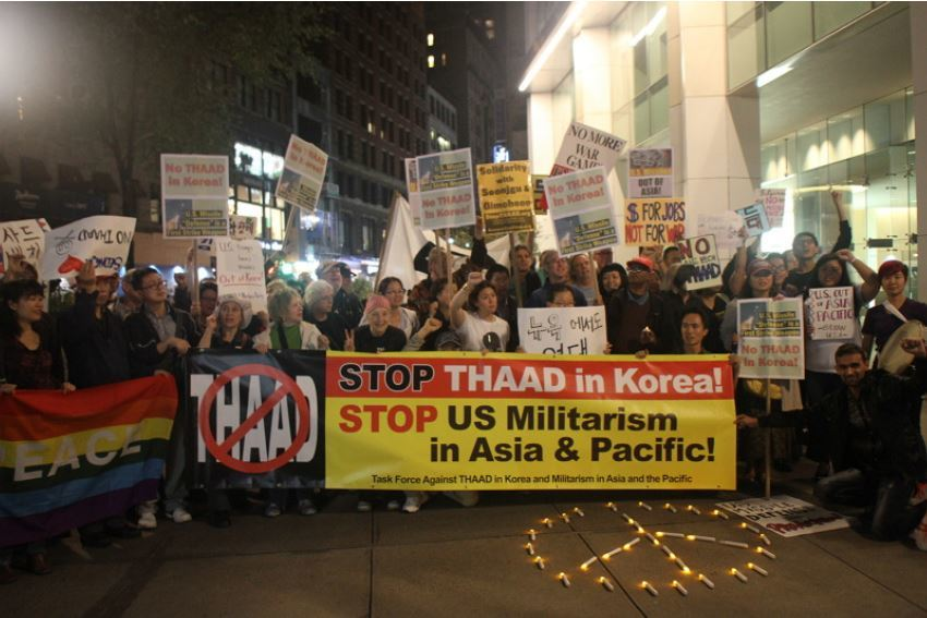 antiwar-groups-protest-thaad-missile-defense-deployment-to-korea-in-new-york-city-october-21