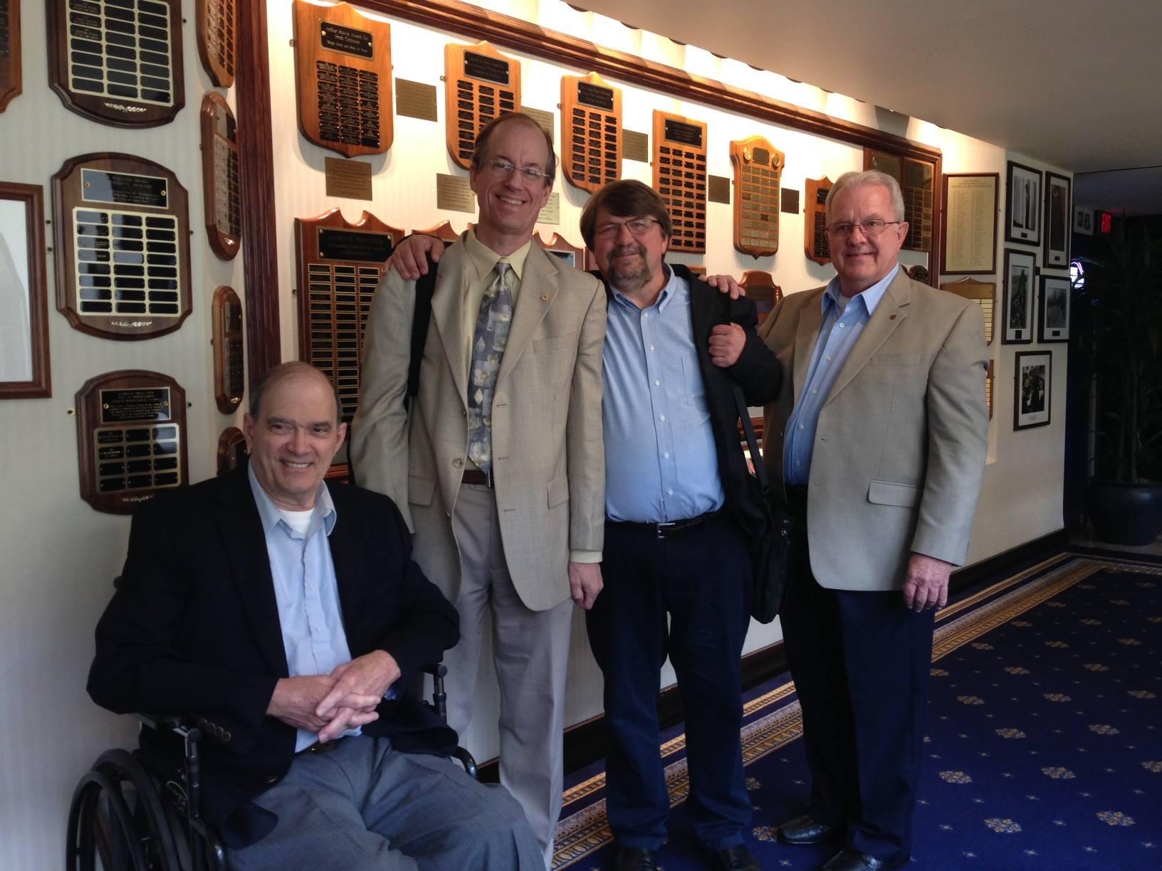 Tom Drake, Kirk Wiebe, Bill Binney