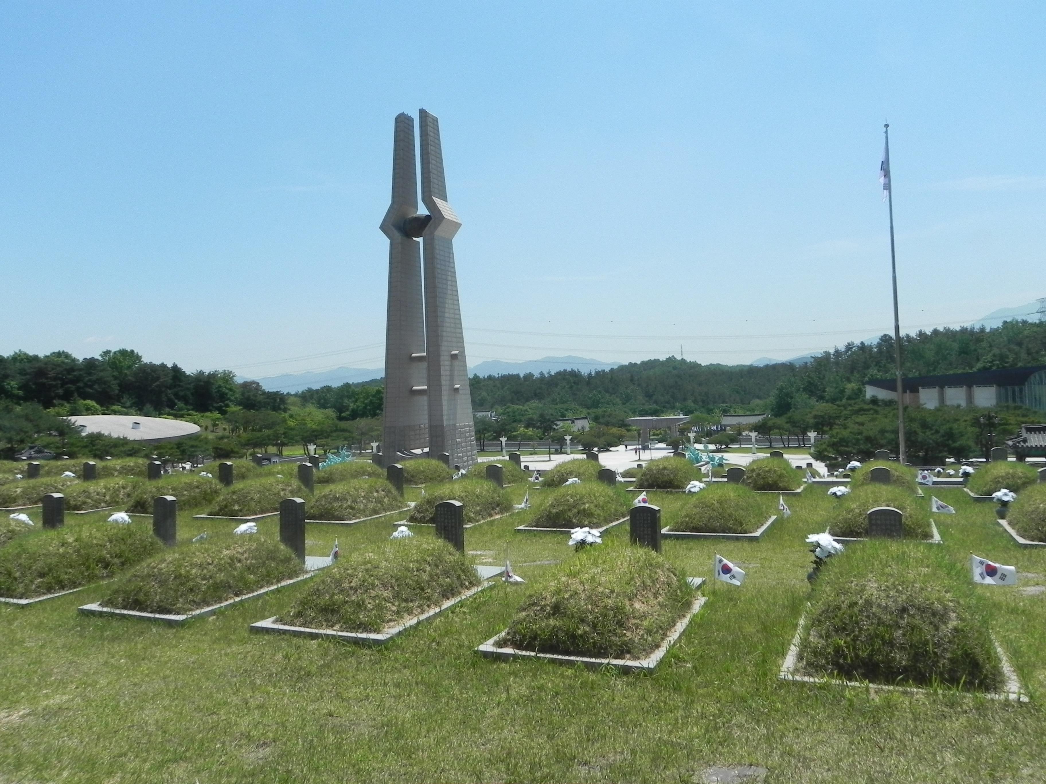 Gwangju National Cemetery, May 2015